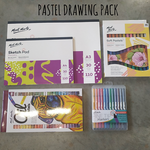 PASTEL DRAWING PACK