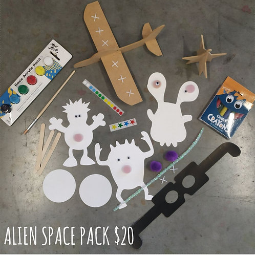 Alien Space Craft Pack