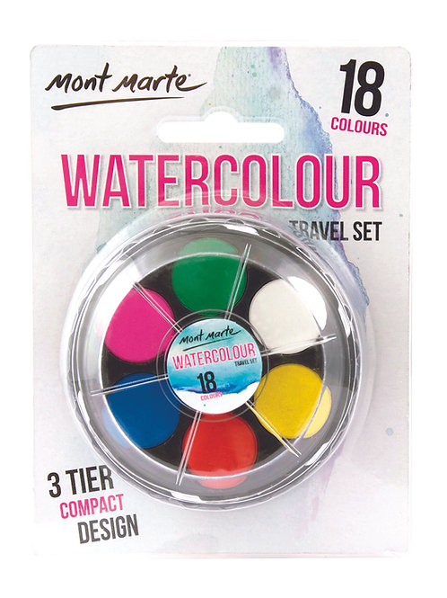Watercolour Travel Set - 18pce