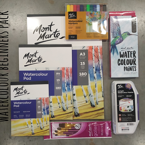WATERCOLOUR BEGINNERS PACK