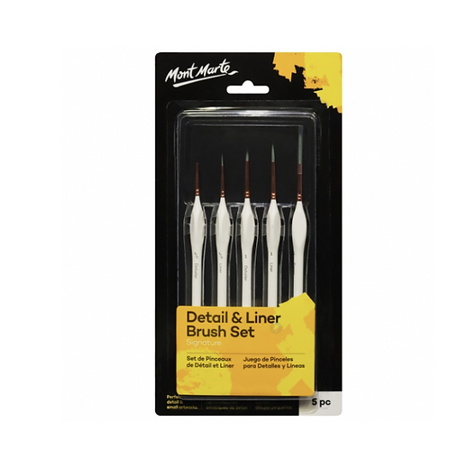 Signature Detail & Liner Brush Set 5pc
