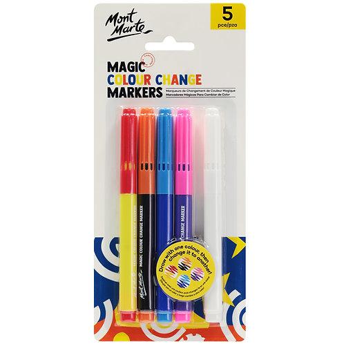 Magic Colour Change Markers 5pce