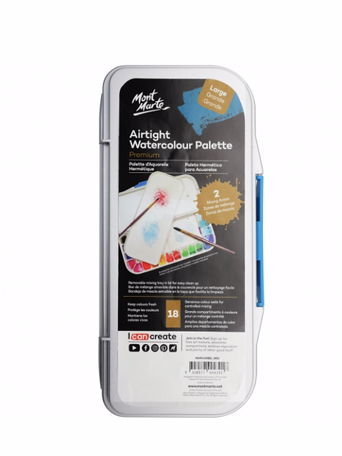 Premium Air Tight Watercolour Palette
