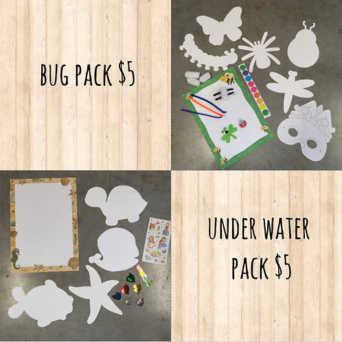 $5 Craft Packs