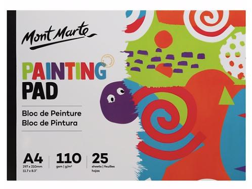 Painting Pad A4 25 Sheets