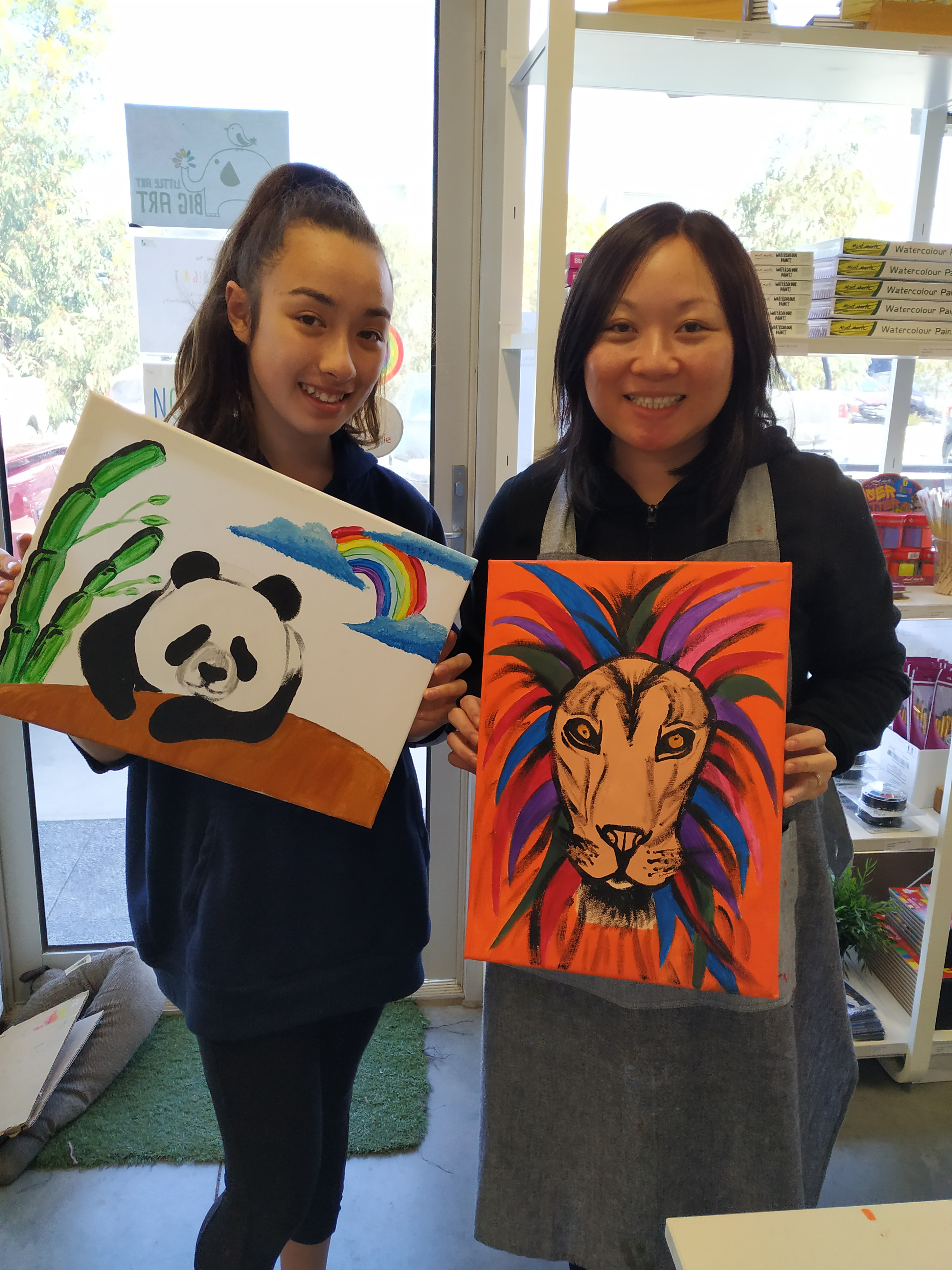 Acrylic Painting All Ages!