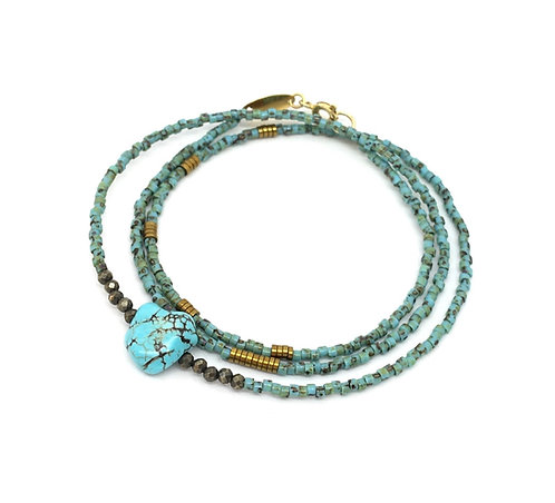 Bracelet ou collier  BLUE BAY