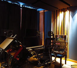 professional recording studio design - home studio build of a small room for KLIMENT