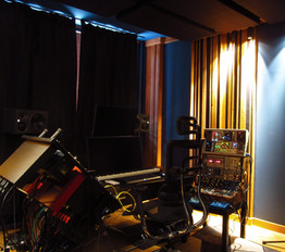 professional recording studio design - home studio build of a small room for KLIMENT