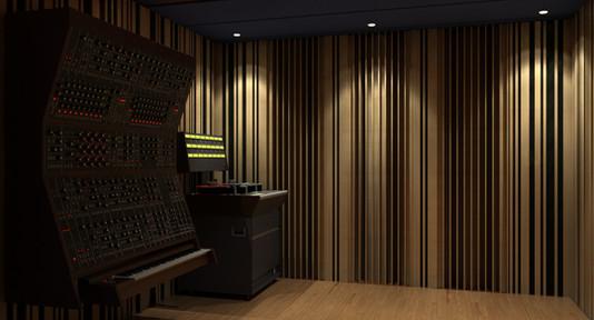 professional recording studio design - C