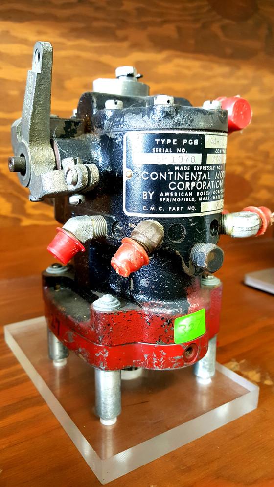 American Bosch type PGB gasoline injection pump.