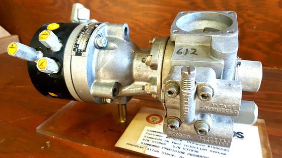 Simmonds gasoline injection pump.