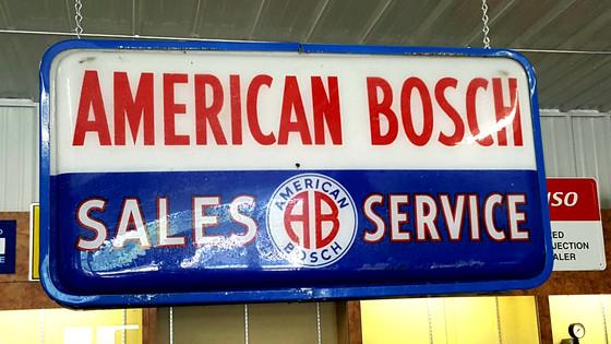 American Bosch sign.