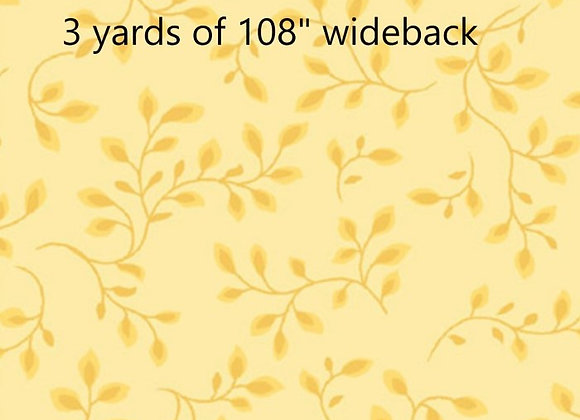 3 Yards of Pale Yellow