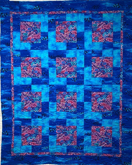 coral reef quilt