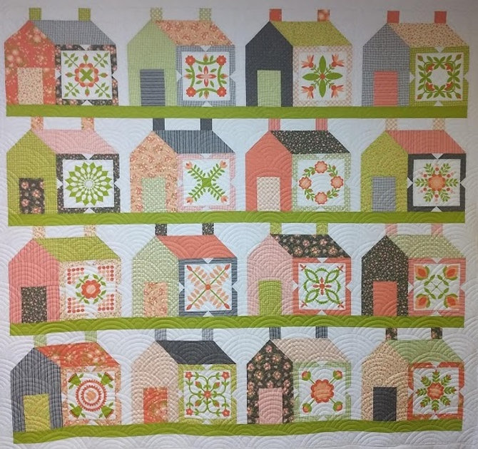 houses and clamshell longarm quilting de