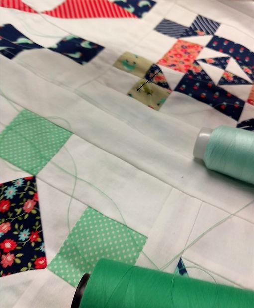 Longarm quilting thread 3