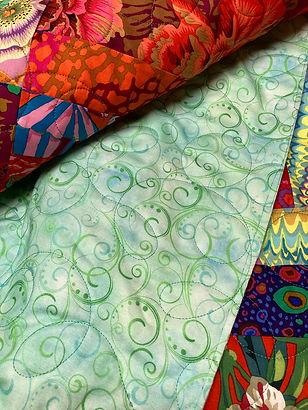 Swirling Splendor wide back quilt fabric