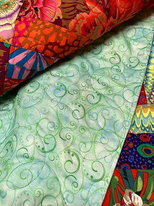 Swirling Splendor wide back quilt fabric