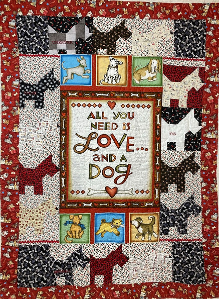 love and a dog quilt.JPEG