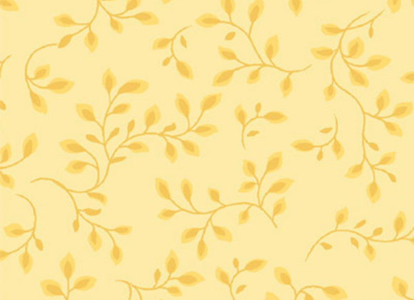 "Pale Yellow 108"" by half yard"