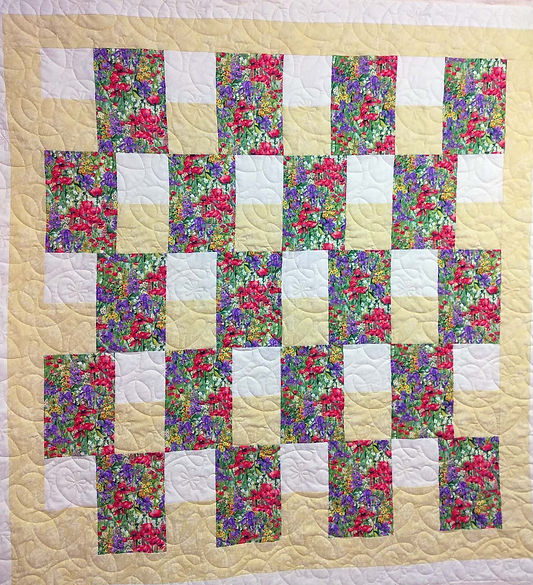 Longarm quilting by Apple Basket Quiltin