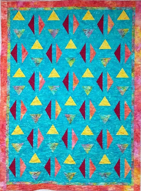 Waverly longarm quilting design
