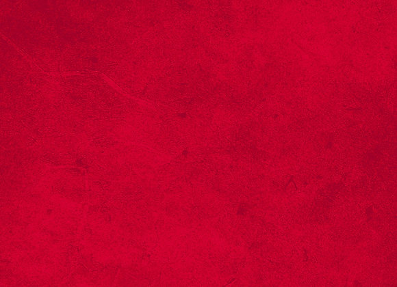 Suede in Red by half yard