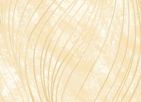 Go with the Flow Cream by half yard