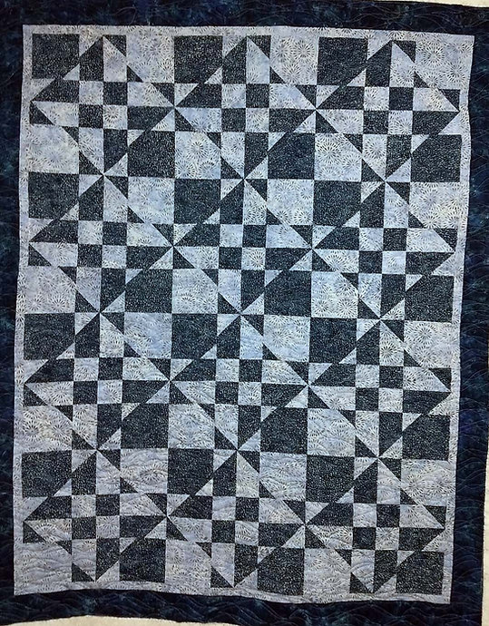Waverly quilting design for longarm quil