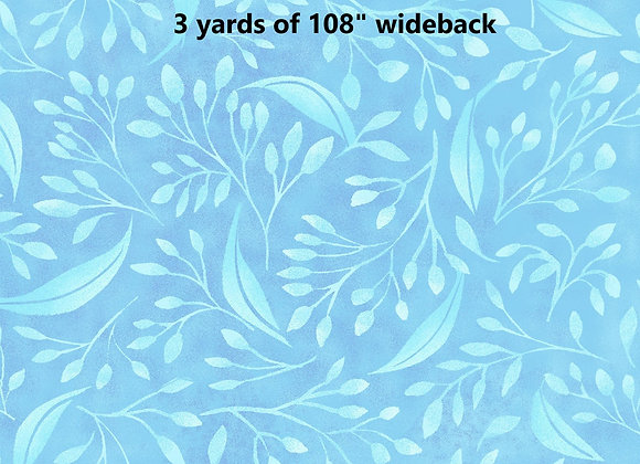 """3 yards of Alessia 108"""" wide Teal"""