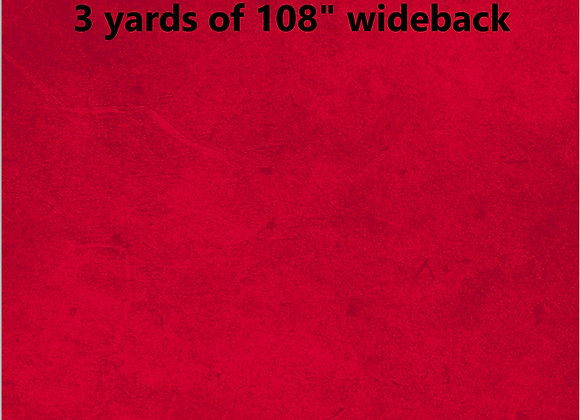 3 yards of Suede in Red