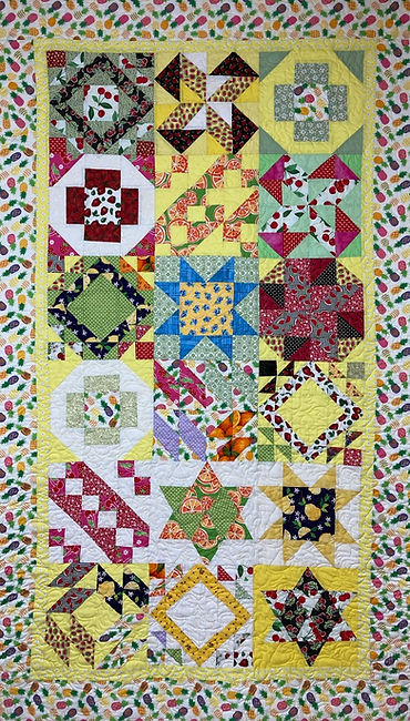 longarm quilting by Apple Basket Quilting