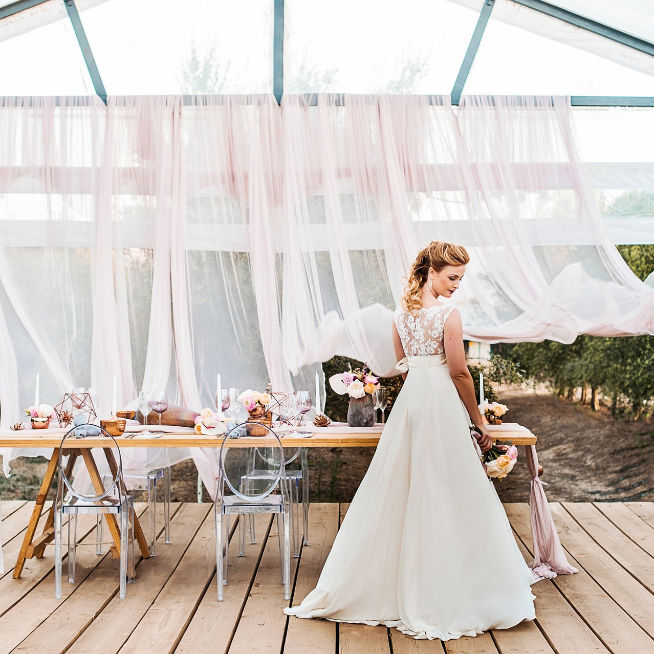 Blush Styled Shoot