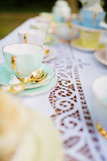 Styled Shoot - Pastel Tea Table