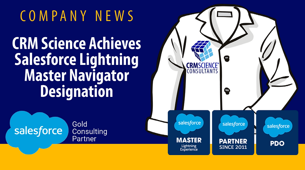 CRM Science Achieves Salesforce Lightning Master Designation