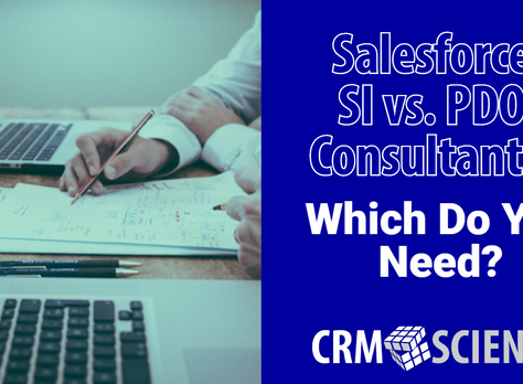 Salesforce SI vs. PDO: Which Do You Need?