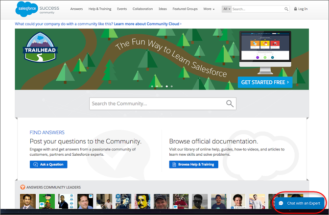 Salesforce Lightning Snap-Ins Chat Functionality