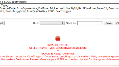 Winter '14:  Cron Job Name and Type in SOQL