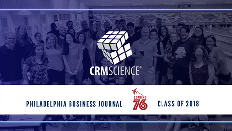 CRM Science named to Soaring 76 Class of 2018!