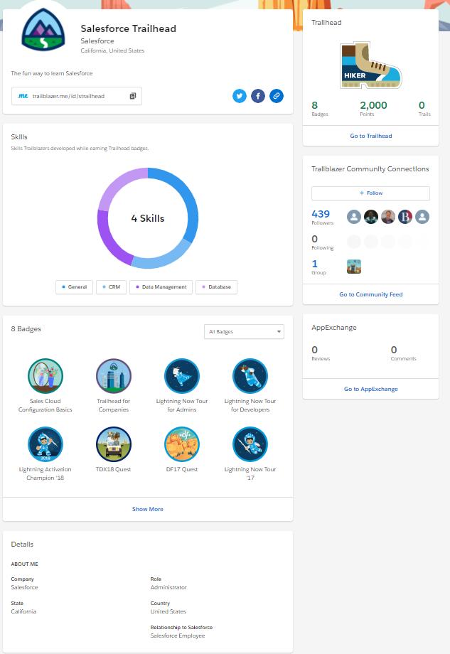 Connect Webassessor Account to Trailblazer Profile