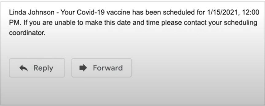 Vaccine Scheduling Plus Notifications and Reminders