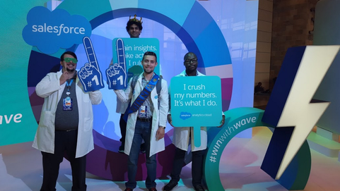 Lab Coats, SalesforceTour and NYC