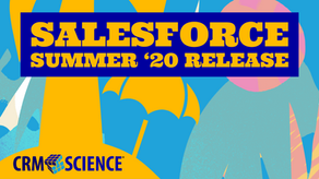 New Features and Improvements in the Salesforce Summer '20 Release