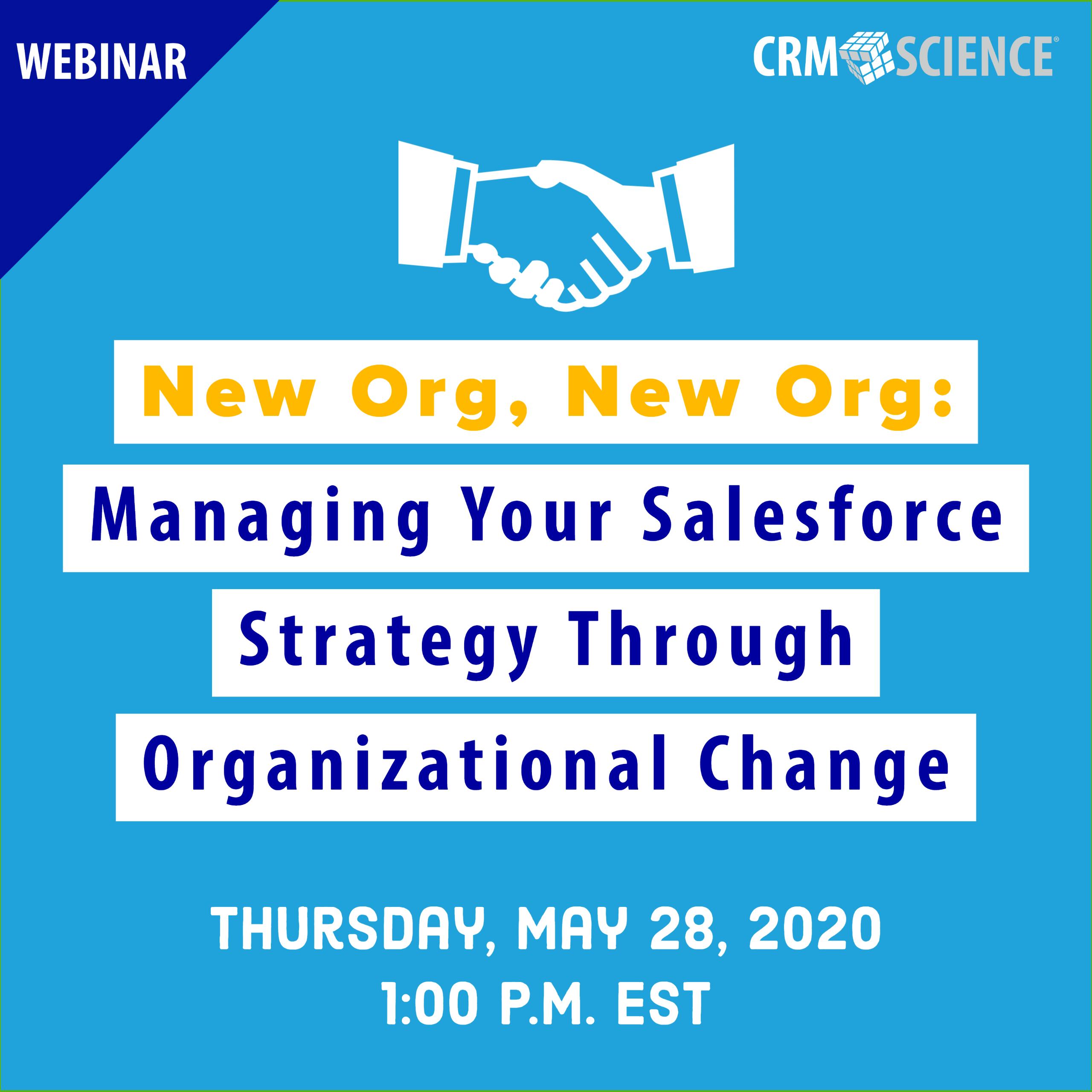 Webinar: Organizational Change