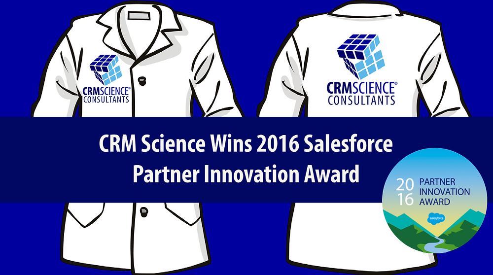 CRM Science Wins 2016 Partner Innovation Award for the Connected Ecosystem