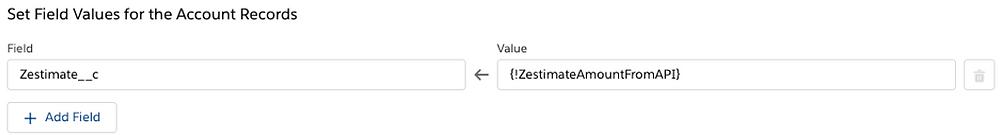 Set Field Values