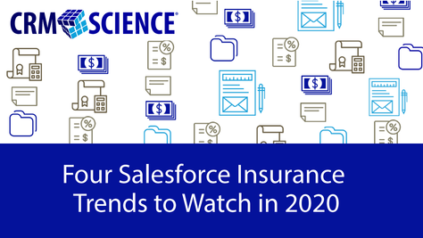 Four Salesforce Insurance Trends to Watch in 2020