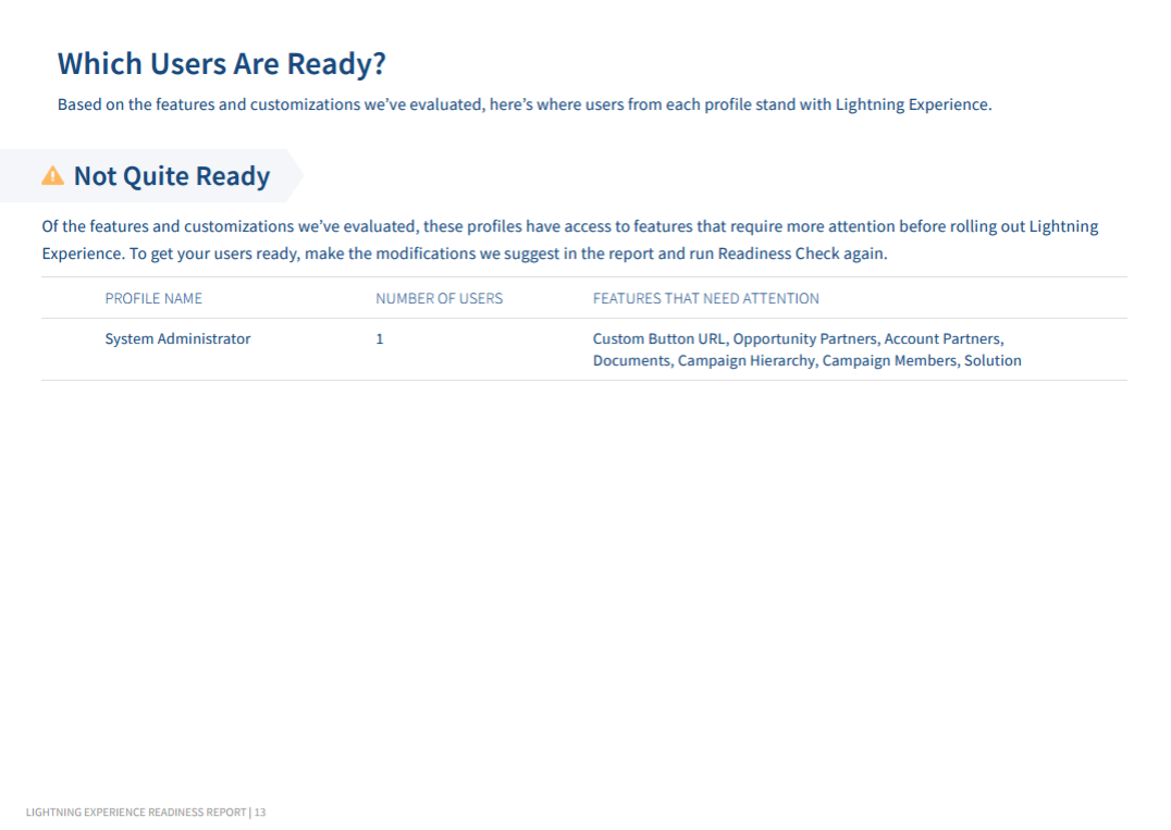 Is Your Org    Lightning Ready?