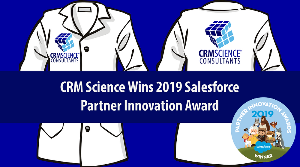 CRM Science Wins 2019 Salesforce Partner Innovation Award for Community Cloud